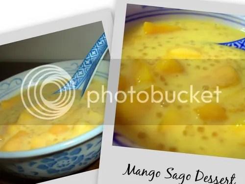 Mango Sago. Mmmm...