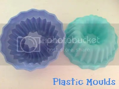 Plastic moulds!