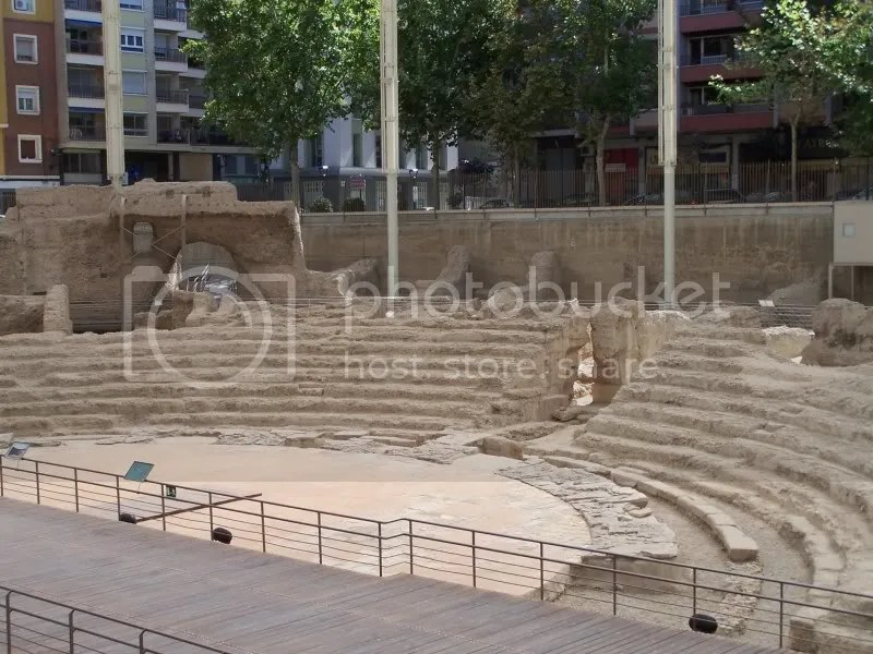 Roman ruins found in Zaragoza.