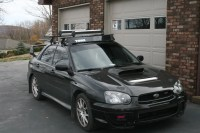 **SOLD** thule roof rack wrx sti