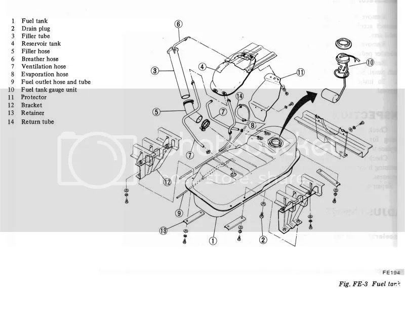 280z Fuel Tank Diagram. 280z stock fuel tank with ls 1 for