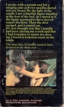 Le Fanu - Vampire Lovers (backside)