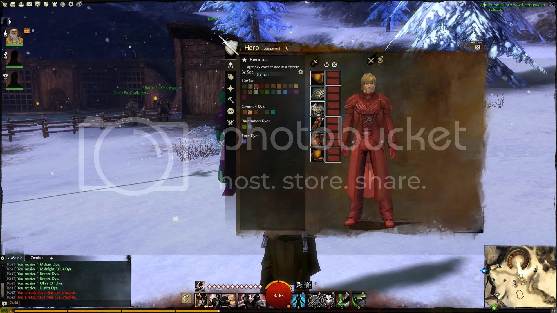 Guild Wars 2 Salmon Dye