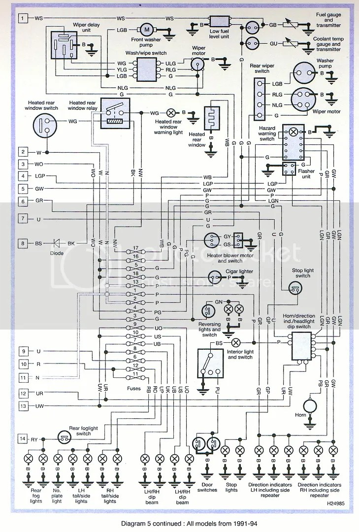 hight resolution of 1998 range rover tail light wiring wiring schematic diagram 641998 range rover tail light wiring wiring