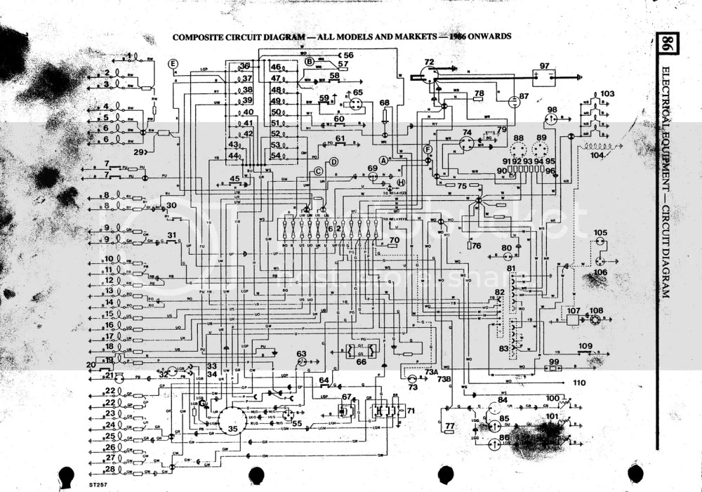 medium resolution of 1975 land rover defender 90 1975 circuit diagrams wiring diagram weekearly row wiring diagram defender