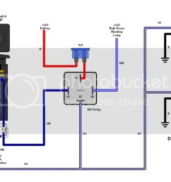 wiring diagrams for hid driving lights and spot lights wiring fog lights diagram spot light wiring [ 1125 x 840 Pixel ]