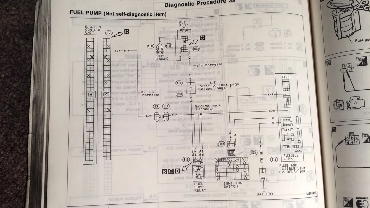 Diagram Likewise 1990 Nissan 300zx Wiring Harness Diagram Also 1991
