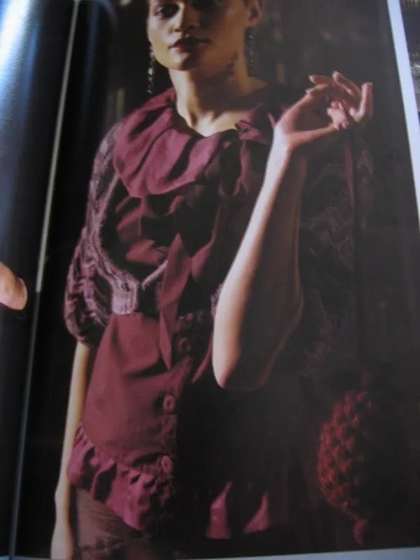 Rowan 42 and Vogue Knitting | Green apples