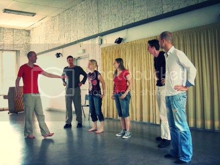 Zomercursus Theatersport o.l.v. Sven Lanser (juli 2008)
