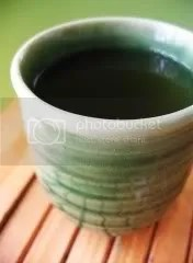 Cold Green Tea
