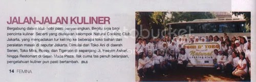 NCC di Majalah Femina