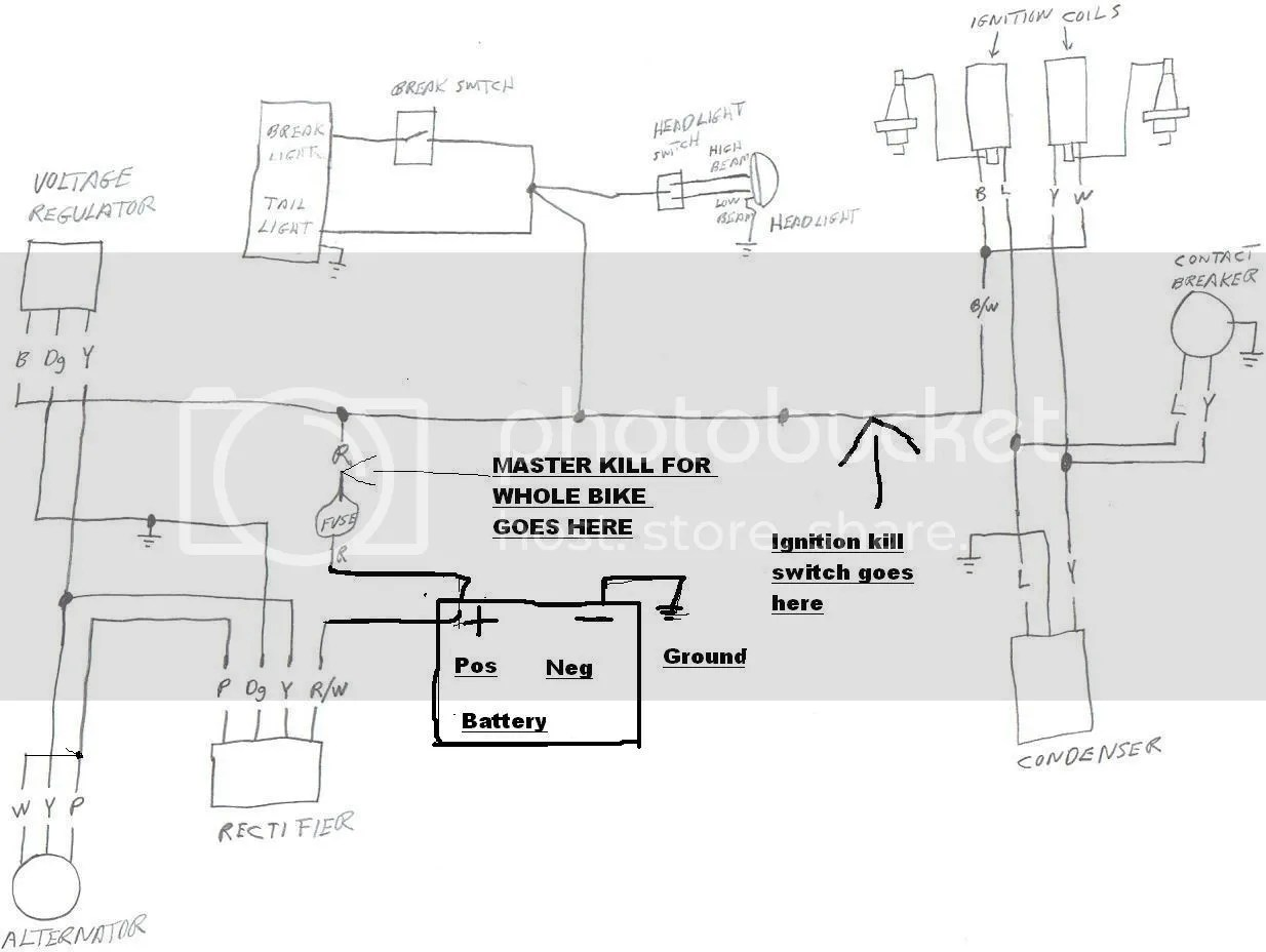 hight resolution of motorcycle battery eliminator wiring diagram