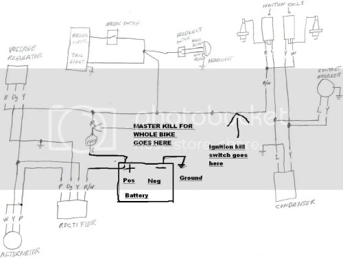 small resolution of motorcycle battery eliminator wiring diagram