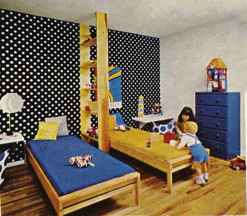 Vintage Kiddo Kid Bedrooms from the 60s and 70s were swank  Modern Kiddo