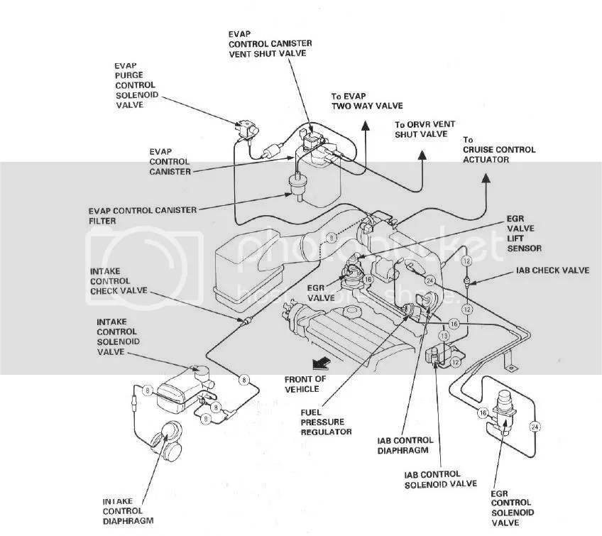 2000 Honda Accord Vacuum Diagram Wiring Diagram Photos For