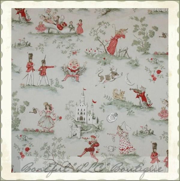 Boneful Fabric Fq Cotton Home Decor Nursery Rhyme