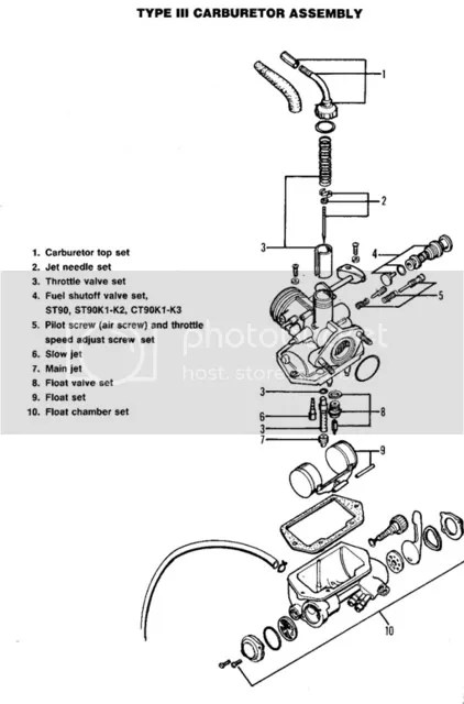 1971 honda ct70 wiring diagram tp 100 ct 70 engine   get free image about