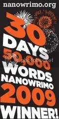 I won Nanowrimo 2009!