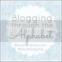 Blogging Through the Alphabet