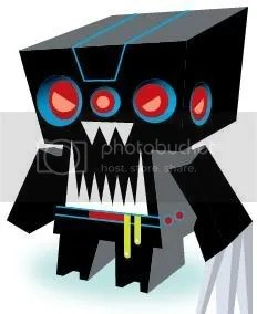 Destructobot Papercraft