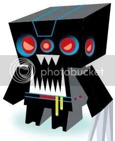 Destructobot Papercraft