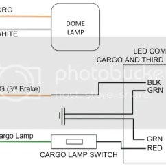 Cargo Light Wiring Diagram Start Stop Motor Control Led Lamp 3rd Brake With Painless The 1947 Present Chevrolet Gmc Truck Message Board Network
