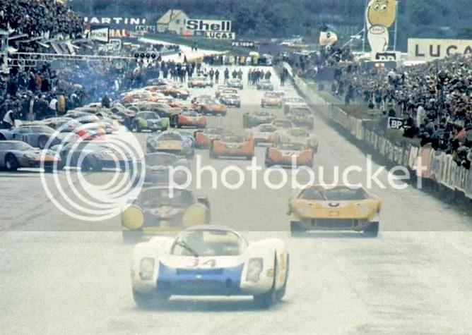 Willy Mairesse alla 24 Ore di Le Mans del 1968.