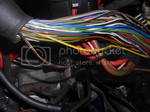 small resolution of  go to start the car the starter wont engage and i see smoke coming out of my wiring harness i had the hood open i checked further this is what i saw