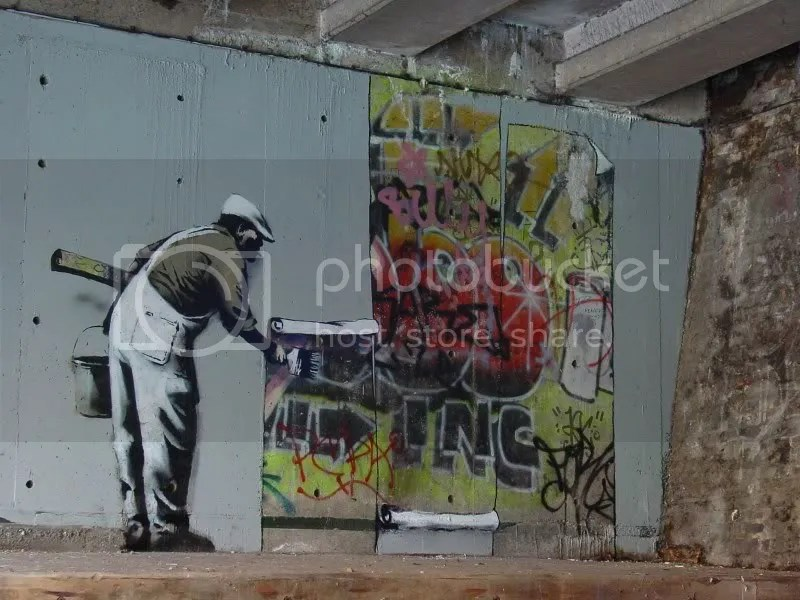 And here is the disconnect between the world of graffiti and mainstream  art  you can make a nice canvas featuring your tag 1af93a9a045c