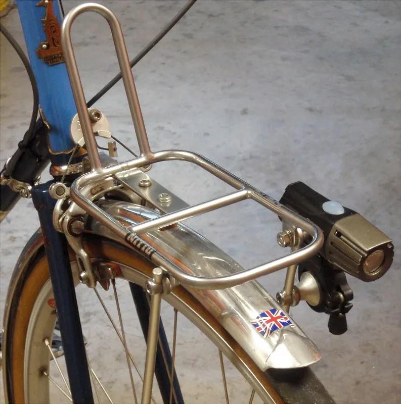 lightweight front rack basket