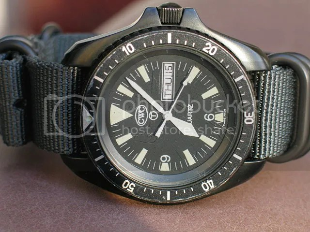 Best rugged blackPVD military watches