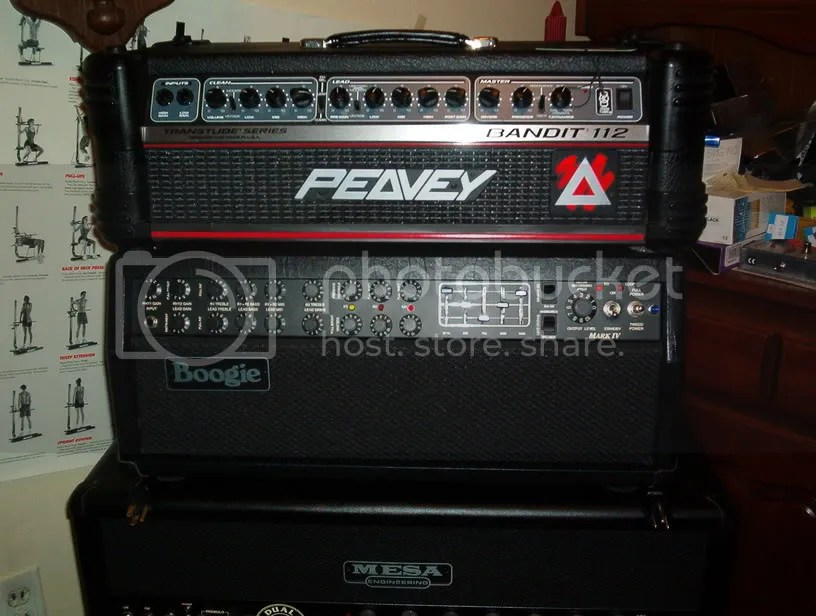 I know there is love for the Peavey Bandit and now I see