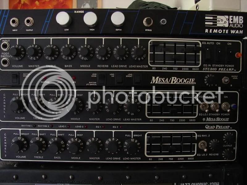 FS Mesa Boogie Quad preamp  Tremoverb head