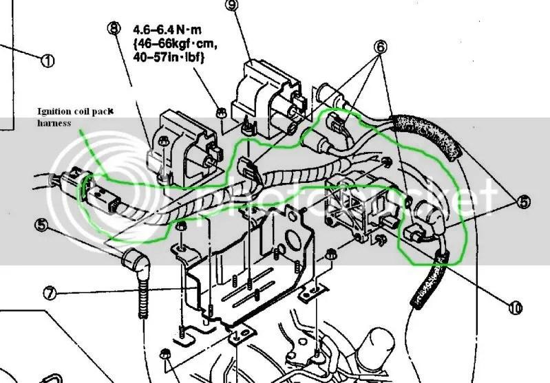 1986 Mazda Rx7 Back Of Headlight Plug Wiring Harness