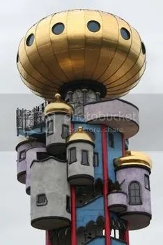 Kuchlbauer Hundertwasser Tower Abensberg Germany