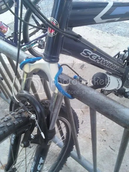 Joke Bike Lock