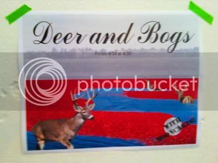 Deer and Bogs