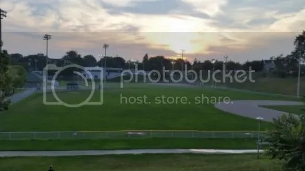 Christie Pits Sunset