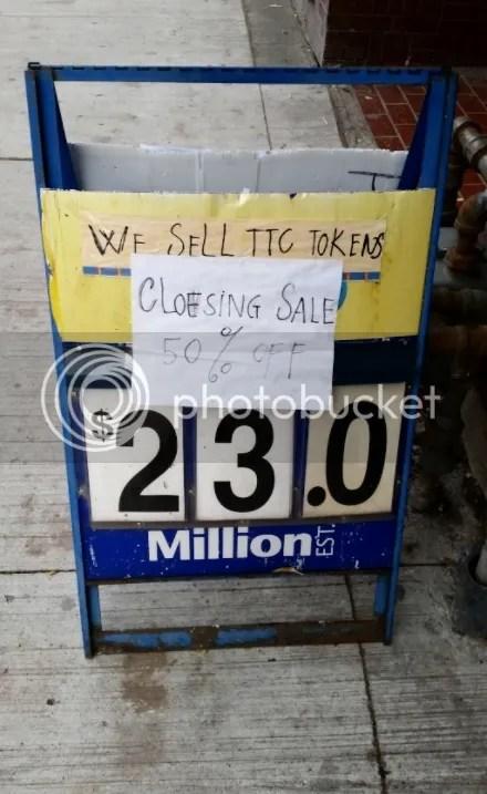 Closing Sale