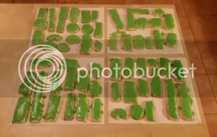 Green Space Cookies