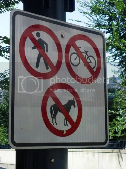 Transportation Not Allowed