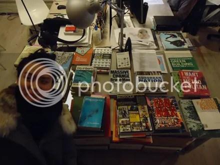 Book Spread Photobomb