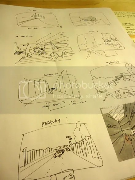 Cartoon Storyboard