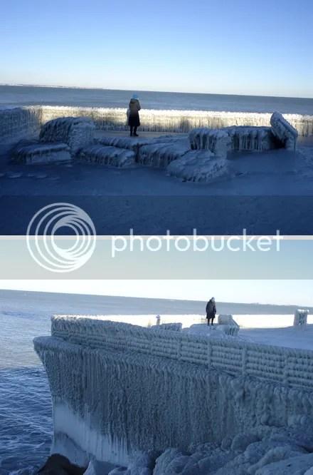 Iced Deer Island