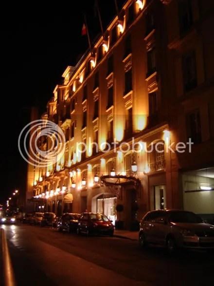 Fancy Hotel = Fancy Lighting