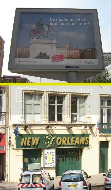 Vélo'v + New Orleans?