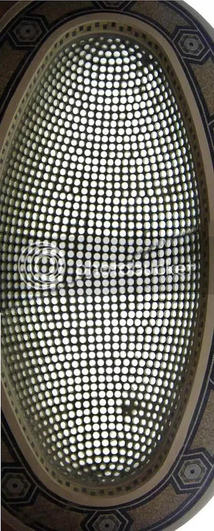 Glass Pixel Awning