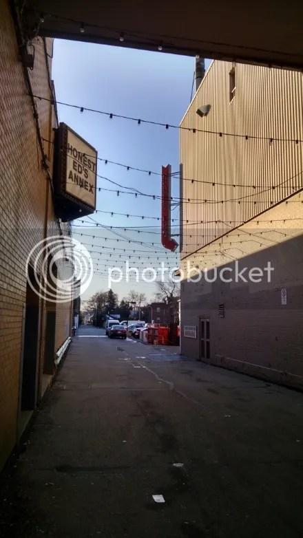 Honest Ed's Alley