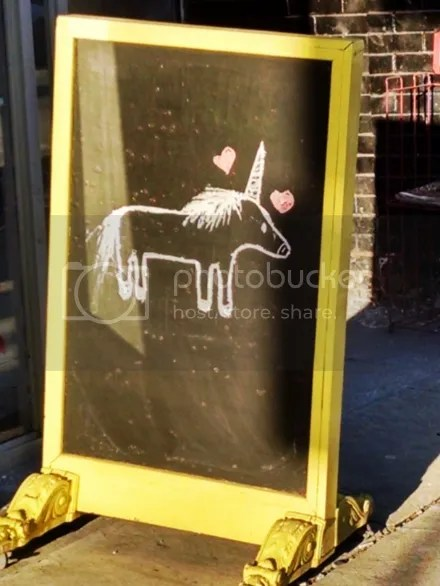 Unicorn Signboard