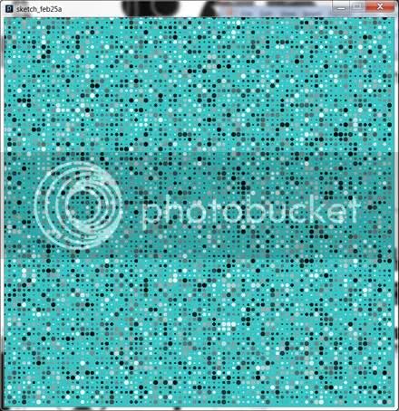 Processing Sketch Dots